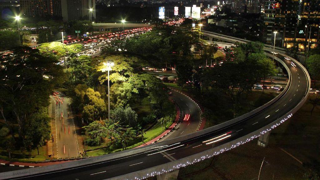 Foto: Tempat Paling Asyik Lihat Jembatan Susun Semanggi