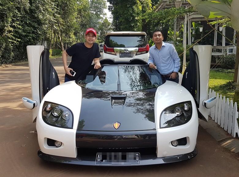 Ada Hypercar Koenigsegg di Rumah Raffi Ahmad