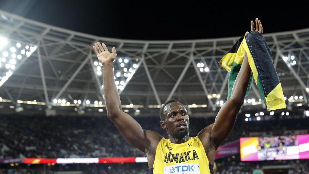 Akhir Pahit Si Manusia Cepat, Usain Bolt