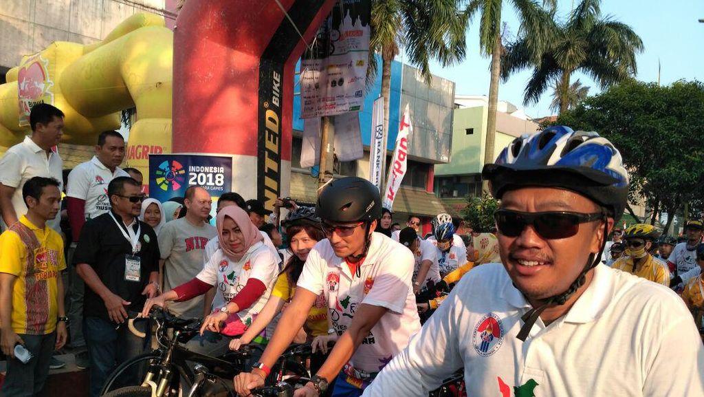 Gowes Nusantara Sampai di Ibukota, Menpora Puji Partisipasi Warga Jakarta