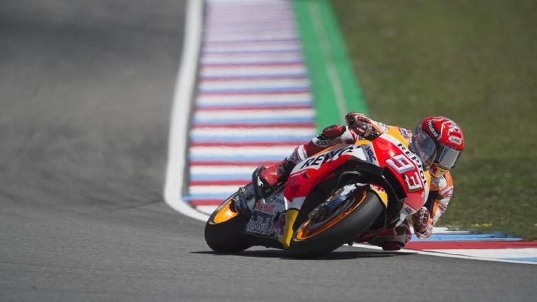 Balapan Kering atau Basah, Marquez Yakin Bisa Petik Hasil Oke