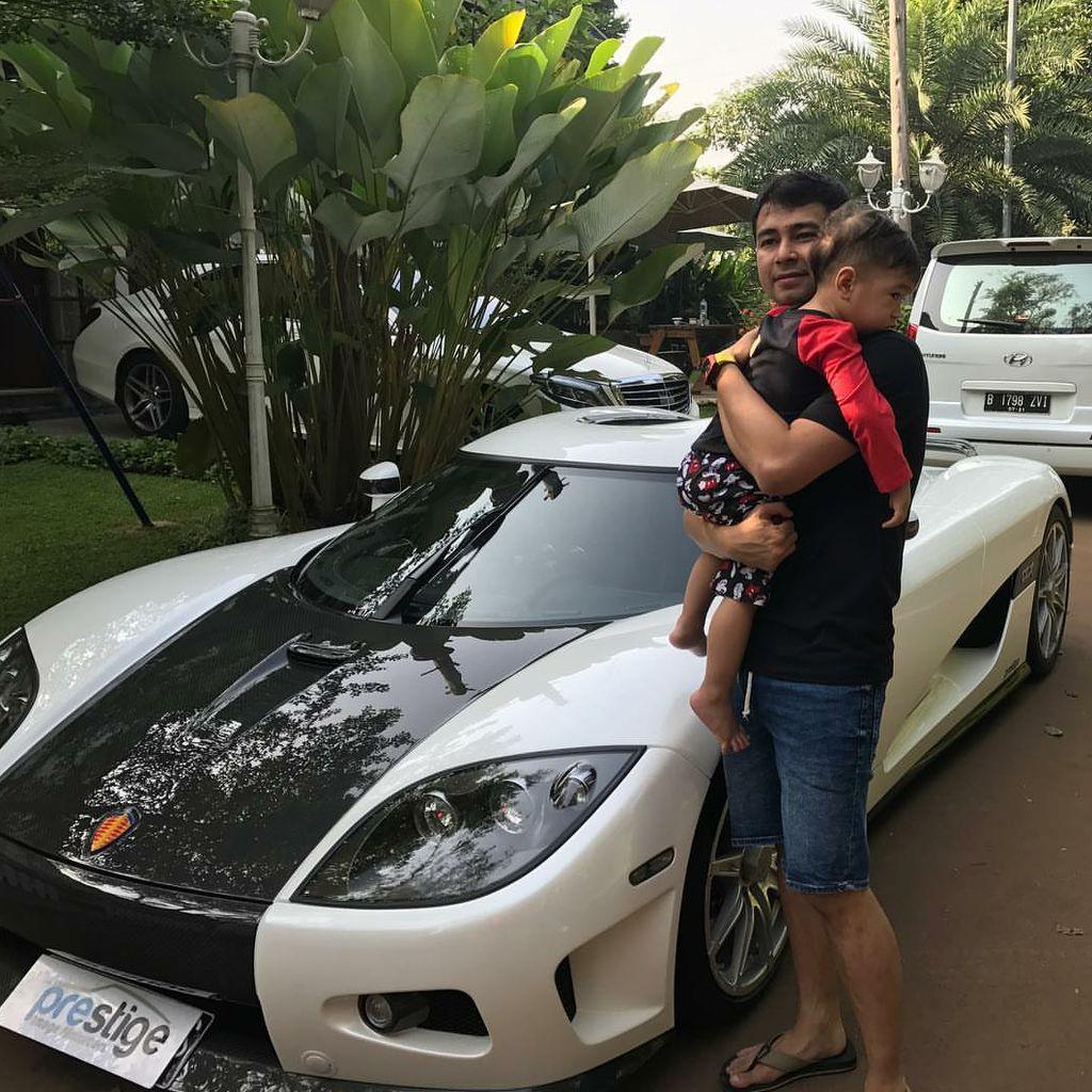 Dikejar Petugas Pajak Terkait Kendaraan Mewah, Ini Klarifikasi Raffi Ahmad