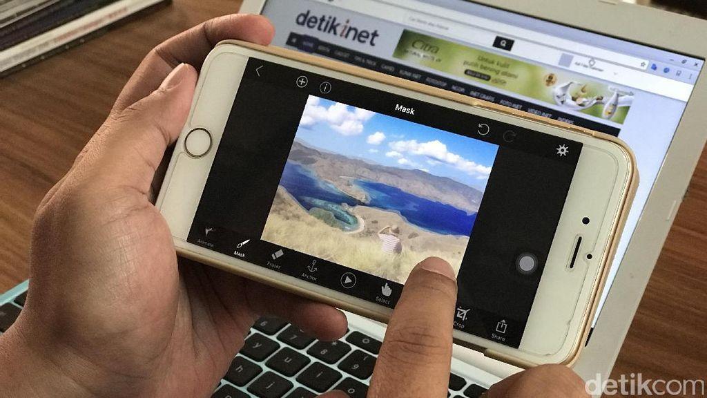 Yuk Bikin Foto Berlatar Belakang Bergerak di Ponsel