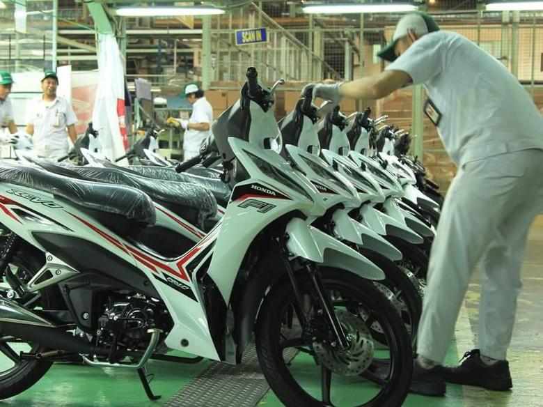 Honda Masih Jadi Merek Motor Terlaris di Bulan Juli
