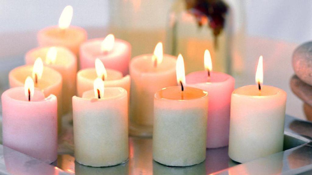 Pengalaman Horror Wanita Kena Luka Bakar akibat Lilin Aromaterapi