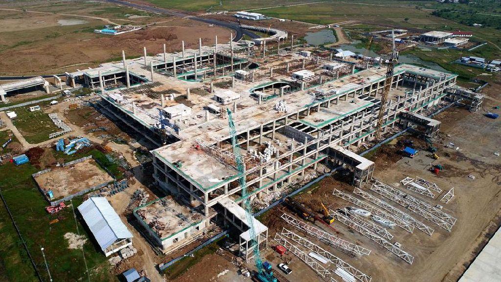 Bandara Kertajati Dikebut Pembangunannya