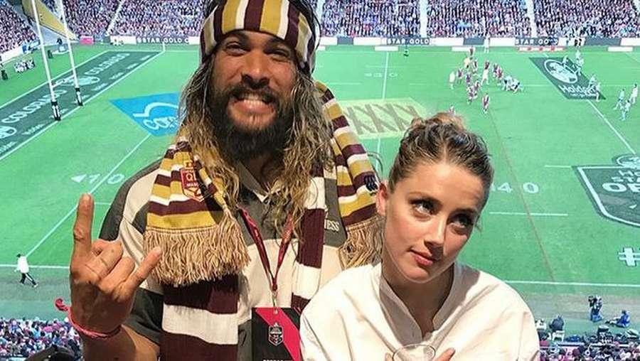 Amber Heard Putus dengan Elon Iron Man Musk Karena Aquaman ?
