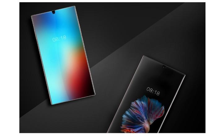 Bocoran smartphone full screen keluaran Sharp