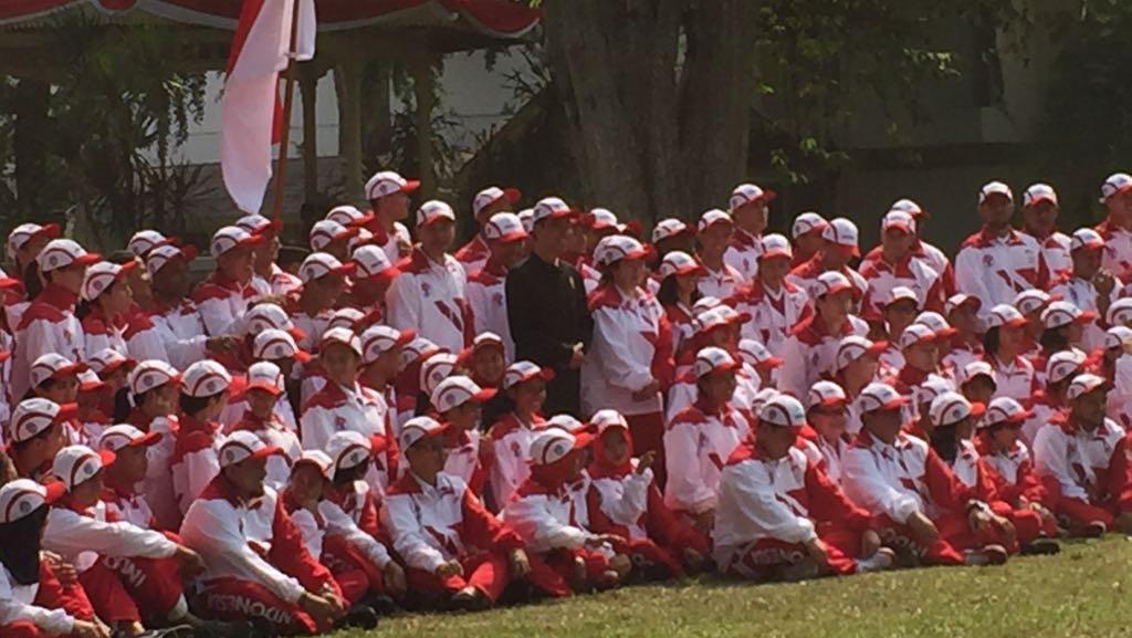 Kontingen SEA Games Dilepas Jokowi, Judo Absen ke Istana