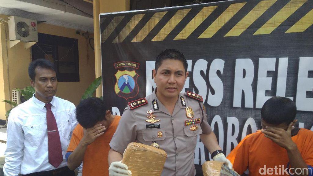 Penyelundupan Ganja 1,6 Kg dan Sabu dari Jakarta Digagalkan