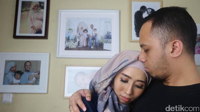 Ilustrasi suami mengalami depresi pasca melahirkan/ Foto: Hasan Al Habsy