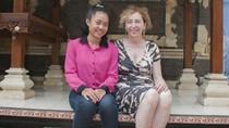 Bantu Sekolah, Menaker Prancis Tanya Cita-cita Anak Buruh di Bali