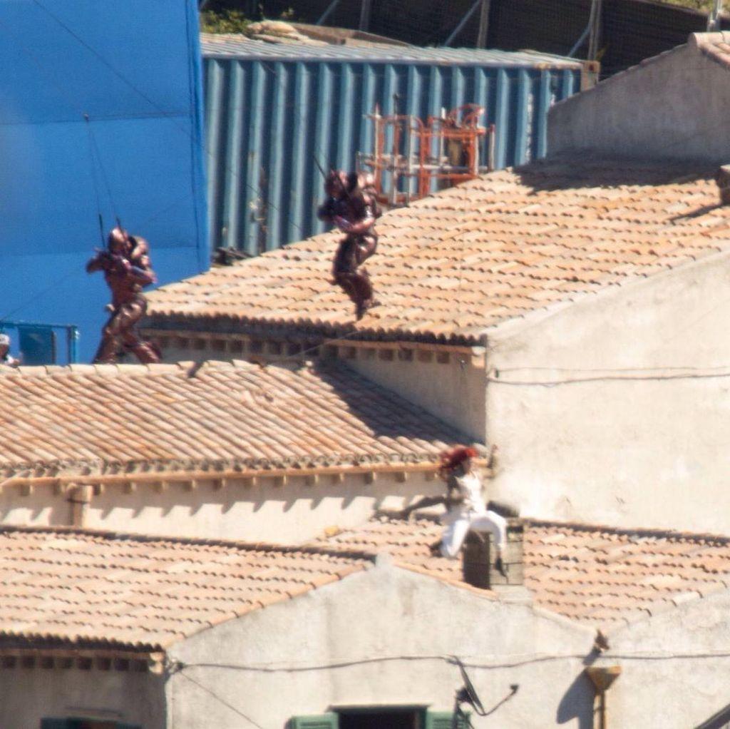 Syuting Aquaman Tampilkan Sosok Tentara Atlantis Berkostum Baja