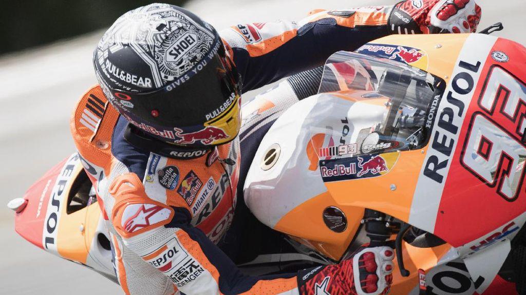 Diselidiki, Honda Kirim Mesin Marquez yang Jebol ke Jepang