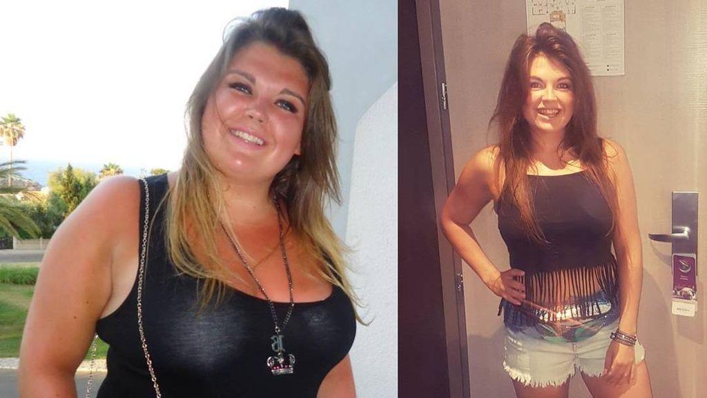 Berat Badan Wanita Ini Turun Hampir 50 Kg Tanpa Diet, Bagaimana Bisa?