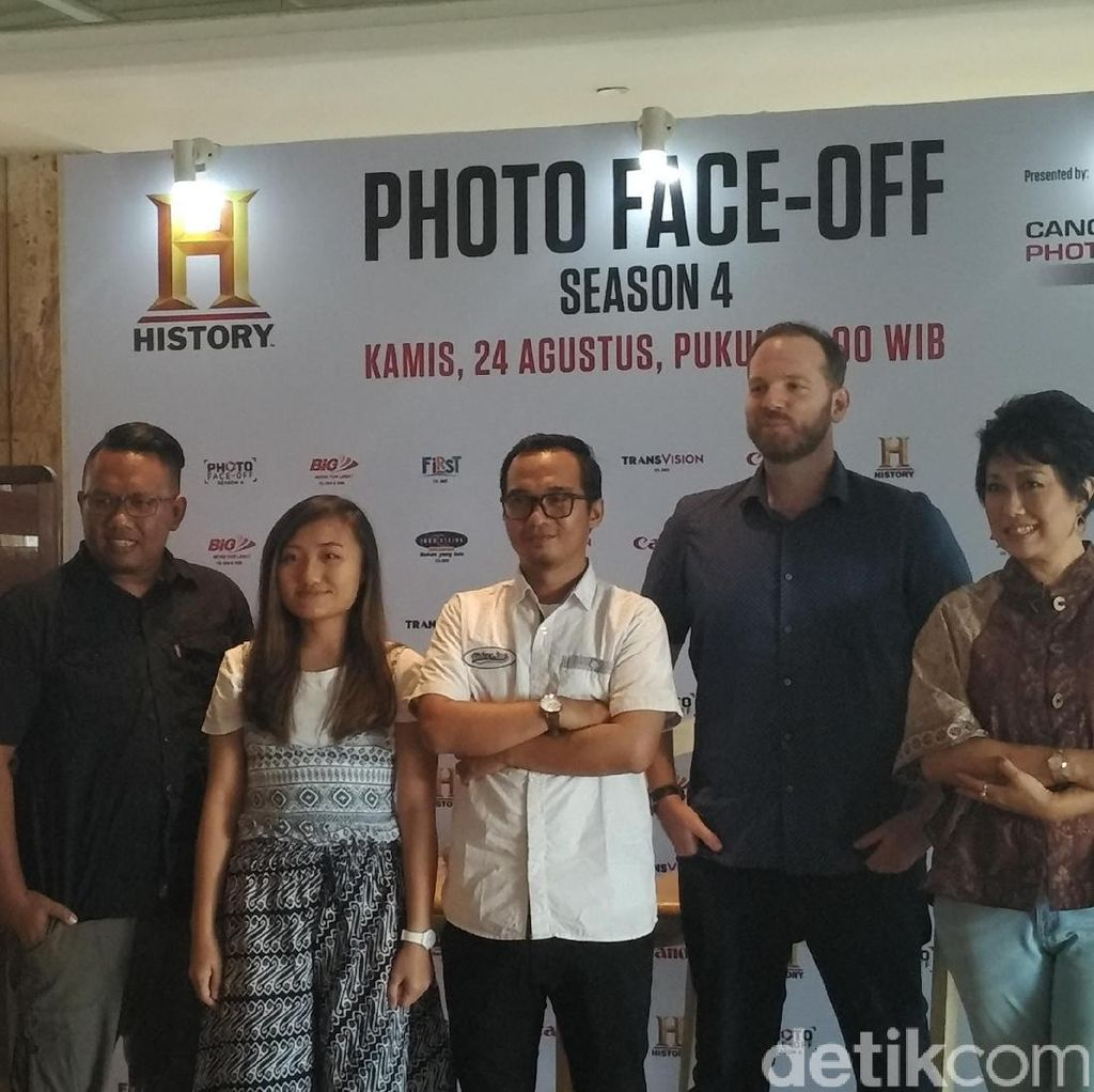 Musim Keempat Photo Face-off Kembali di History Channel Asia