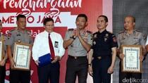 Penghargaan dari Kapolda untuk Tim Pengungkap Sabu 1 Ton