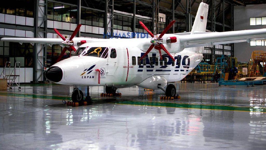 Melihat Pesawat N219 yang Dirancang Terbangi Pulau Terpencil
