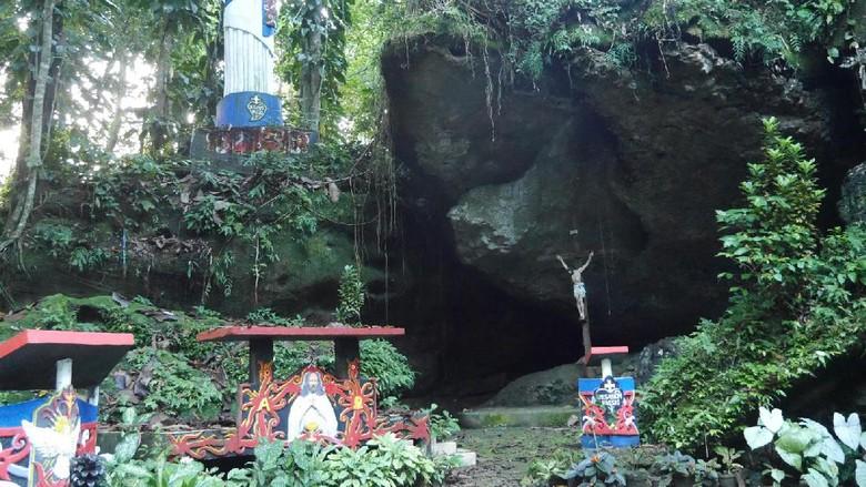 Foto: Gua Thang Raya di Sanggau, Kalimantan Barat (Kurnia/detikTravel)