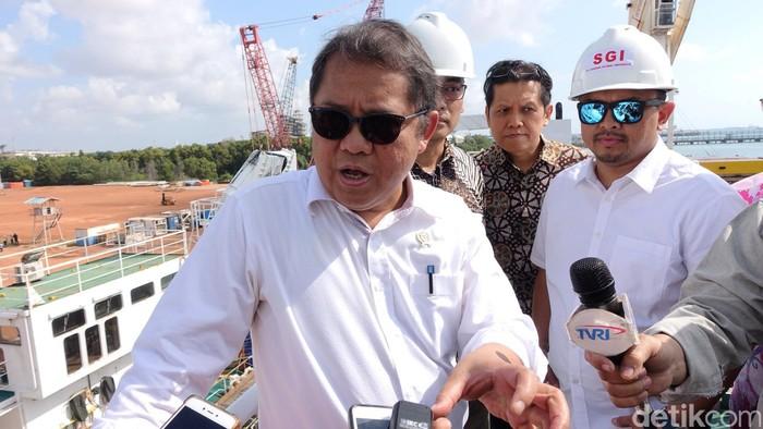 Menkominfo Rudiantara saat kunjungan ke Batam (Foto: Agus Tri Haryanto/detikINET)