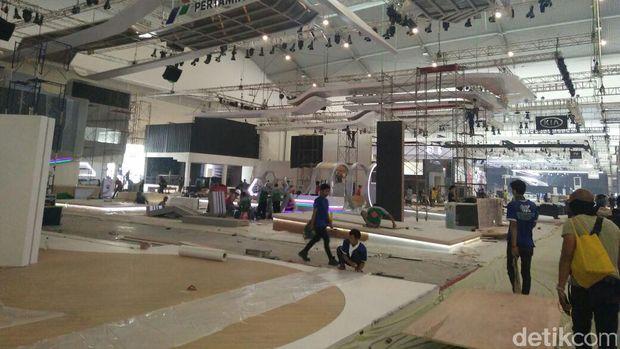 Intip Persiapan Pabrikan Menjelang GIIAS 2017