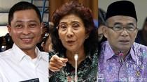 Disebut Jadi Korban Politik Kotor, Ini Aksi Jonan-Susi-Muhadjir