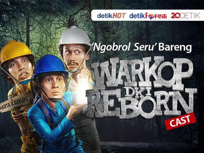 Jangan Lewatkan, Ngobrol Bareng Cast Warkop DKI Reborn 2!