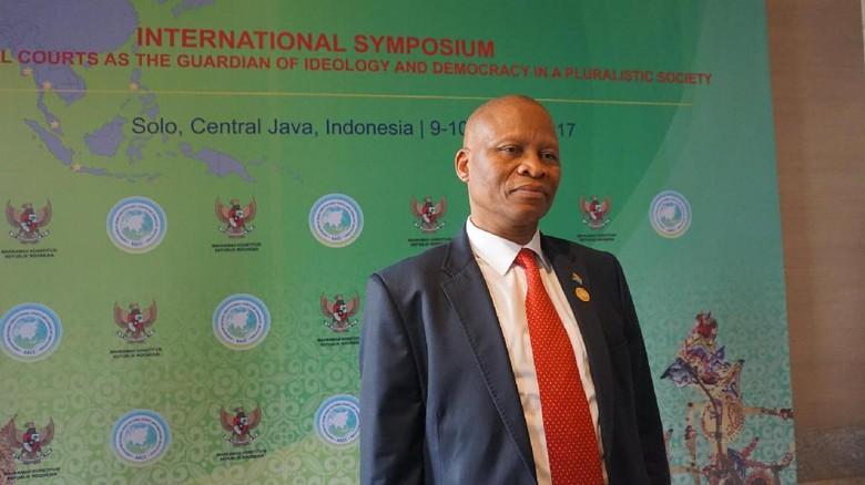 Presiden MK Se-Afrika Ingin Belajar Demokrasi ke Indonesia