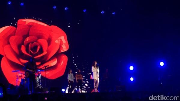 Raisa dan Afgan Buat Spotify On Stage Romantis