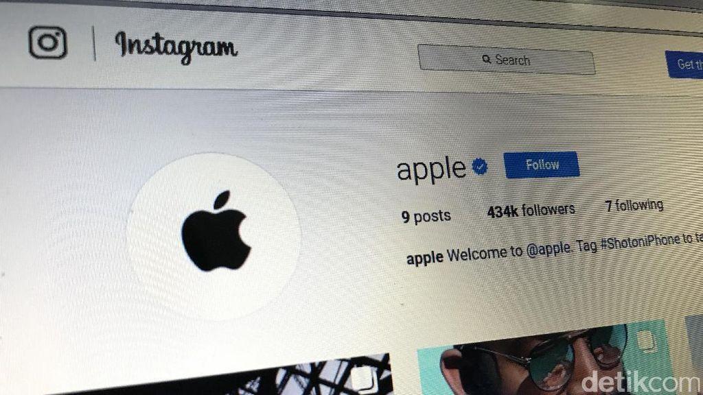 Apple Pamer Jepretan iPhone di Instagram