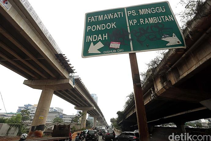 Jembatan Layang Tol Desari Segera Membentang