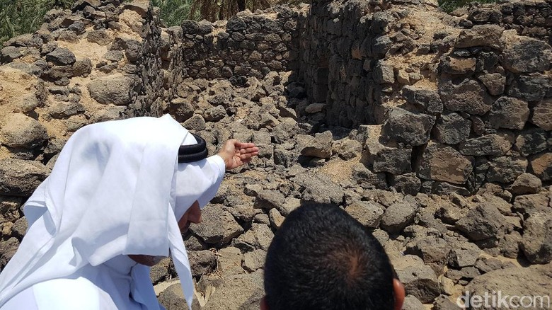 Foto : Yang Tersisa dari Benteng Era Nabi Muhammad di Madinah