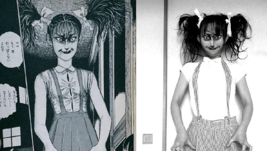 Ngeri, Wanita Ini Bisa Buat Hantu di Komik Horror Jadi Nyata