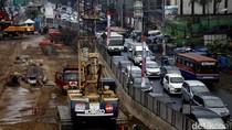 Rekayasa Lalin di Mampang Belum Bisa Urai Kemacetan