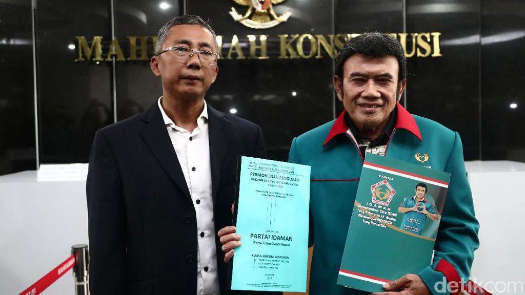 Foto: Dipimpin Rhoma, Partai Idaman Gugat PT 20 Persen ke MK