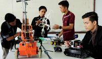 Mahasiswa di Aceh ini Sulap Drone Jadi Robot Pemantau Kebakaran