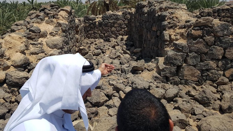 Kisah dari Benteng Era Nabi Muhammad yang Tersisa di Madinah