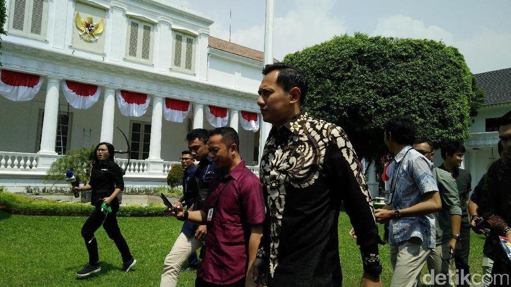 Ke Istana, AHY Minta Wejangan Jokowi untuk The Yudhoyono Institute