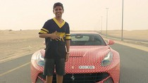 Masih 15 Tahun, Anak Tajir Ini Punya Mobil Ferrari Bermotif Louis Vuitton