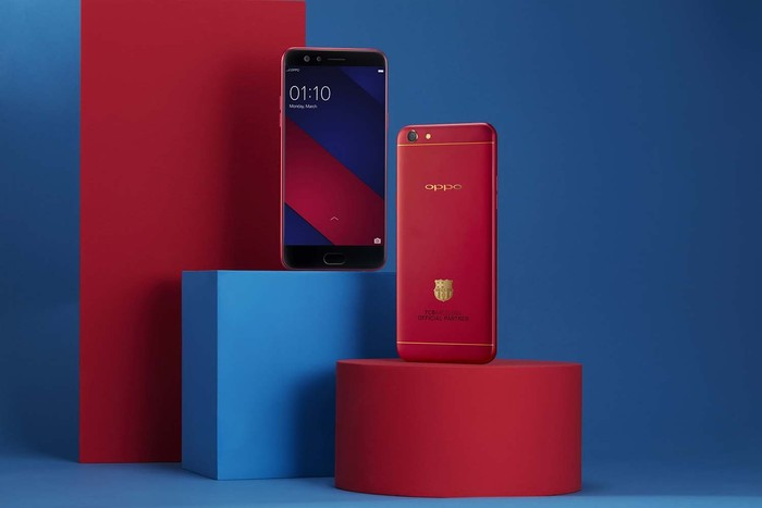 Oppo F3 FCB Limited Edition. Foto: Oppo