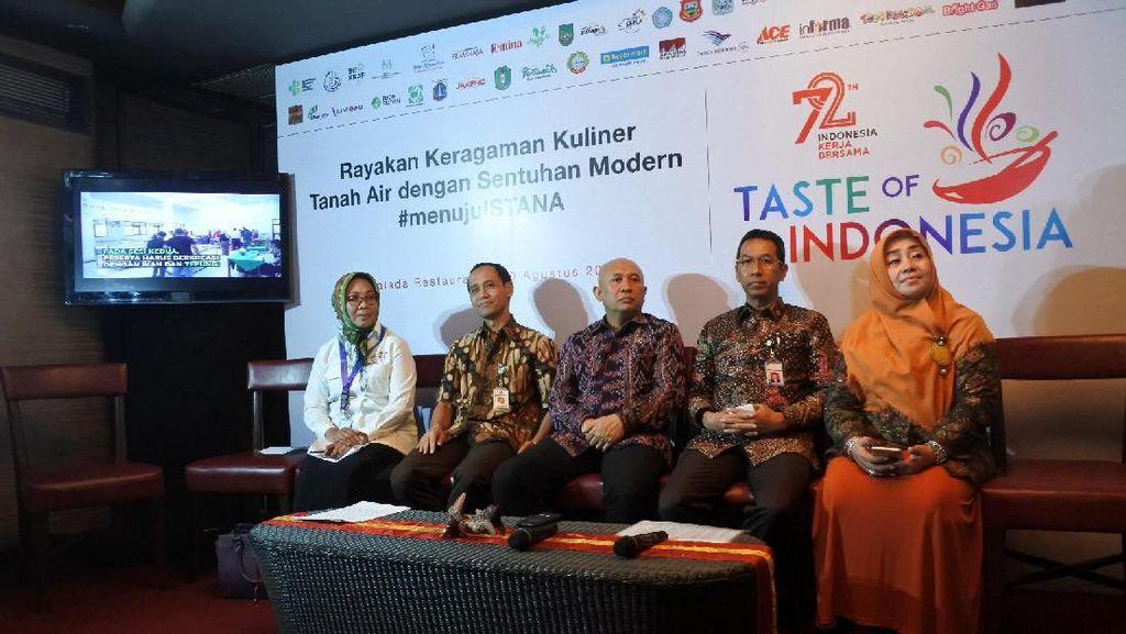 Lomba Ikan Nusantara untuk Populerkan Konsumsi Ikan Lebih Luas