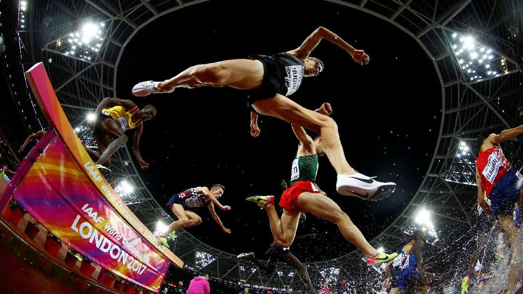 Foto-foto Terbaik Kejuaraan Atletik Dunia