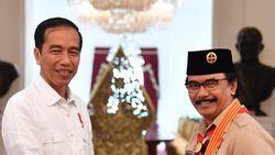 Di Depan Jokowi, Kak Adhyaksa Keluhkan Telatnya Dana Pramuka Turun