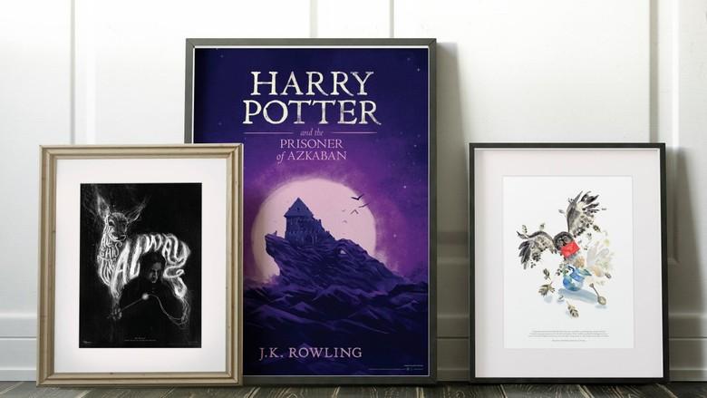Koleksi Seni Harry Potter Kini Tersedia di 27 Negara