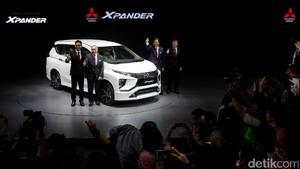 Foto: Perkenalkan Mitsubishi Xpander Low MPV Pesaing Avanza cs