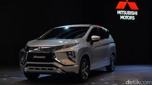 Foto : Mitsubishi Xpander Siap Saingi Avanza cs