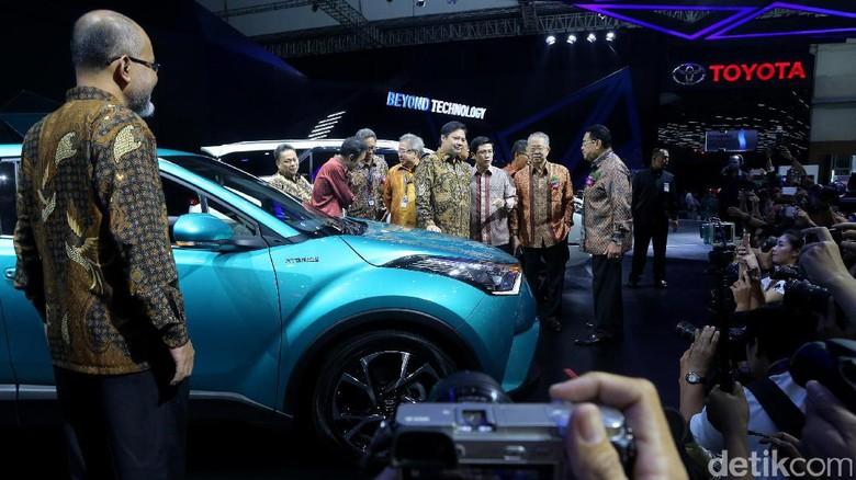 Bisik Toyota ke Menperin: Pakai Pajak Lama, C-HR Bisa Rp 500 Juta