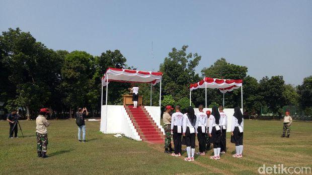Menengok latihan Paskibraka di Cibubur, Jakarta Timur