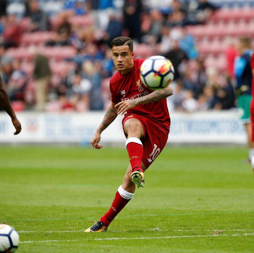 Masa Depan Coutinho Dispekulasikan, Skuat Liverpool Berusaha Cuek Saja