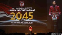 AHY Desain Sendiri Jas Merah The Yudhoyono Institute